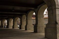 Αρχιτεκτονική Arcade Στοκ φωτογραφία με δικαίωμα ελεύθερης χρήσης