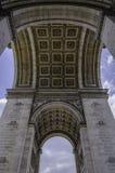 Αρχιτεκτονική de triomphe Παρίσι τόξων Στοκ εικόνες με δικαίωμα ελεύθερης χρήσης