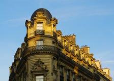 αρχιτεκτονική haussmann Παρίσι Στοκ Εικόνες