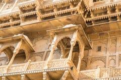 Αρχιτεκτονική Jaisalmer Στοκ Φωτογραφία
