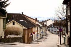 αρχιτεκτονική kongsberg στοκ φωτογραφίες