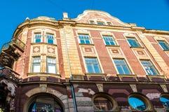 Αρχιτεκτονική Liepaja Στοκ Εικόνες