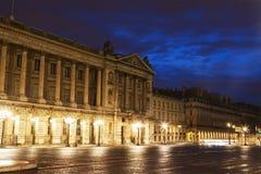 Αρχιτεκτονική Place de Λα Concorde στο Παρίσι Στοκ εικόνα με δικαίωμα ελεύθερης χρήσης