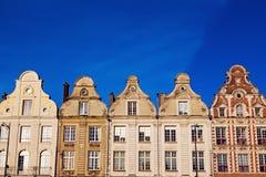 Αρχιτεκτονική Place des Heroes σε Arras Στοκ φωτογραφία με δικαίωμα ελεύθερης χρήσης