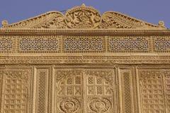 Αρχιτεκτονική Rajput σε Jaisalmer, Ινδία Στοκ Εικόνες