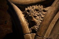 Αρχιτεκτονική Venece - λιοντάρι Στοκ Εικόνα