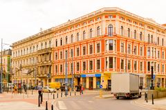 Αρχιτεκτονική Wroclaw, Πολωνία Στοκ φωτογραφία με δικαίωμα ελεύθερης χρήσης