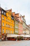 Αρχιτεκτονική Wroclaw, Πολωνία Στοκ Εικόνα