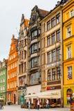Αρχιτεκτονική Wroclaw, Πολωνία Στοκ εικόνες με δικαίωμα ελεύθερης χρήσης