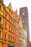 Αρχιτεκτονική Wroclaw, Πολωνία Στοκ Φωτογραφίες