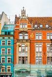 Αρχιτεκτονική Wroclaw, Πολωνία Στοκ Φωτογραφία