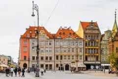 Αρχιτεκτονική Wroclaw, Πολωνία Στοκ εικόνα με δικαίωμα ελεύθερης χρήσης