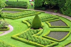 αρχιτεκτονικοί κήποι Σκ&o στοκ φωτογραφίες