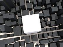 αρχιτεκτονικός στόχος Στοκ φωτογραφία με δικαίωμα ελεύθερης χρήσης