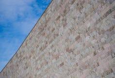 Αρχιτεκτονικός τοίχος Στοκ φωτογραφία με δικαίωμα ελεύθερης χρήσης