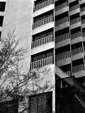 Αρχιτεκτονικό εταιρικό κτήριο σχεδίου Στοκ εικόνες με δικαίωμα ελεύθερης χρήσης