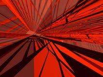 αρχιτεκτονικό κόκκινο Στοκ φωτογραφία με δικαίωμα ελεύθερης χρήσης