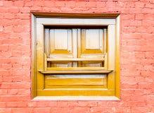 Αρχιτεκτονικό ξύλινο παράθυρο Στοκ φωτογραφίες με δικαίωμα ελεύθερης χρήσης