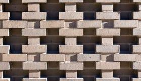 Αρχιτεκτονικό πρότυπο τούβλου Στοκ εικόνα με δικαίωμα ελεύθερης χρήσης