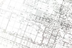 Αρχιτεκτονικό σχέδιο Στοκ φωτογραφίες με δικαίωμα ελεύθερης χρήσης