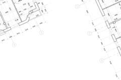 αρχιτεκτονικό σχέδιο ανα διανυσματική απεικόνιση