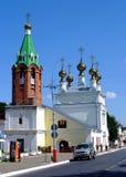 αρχιτεκτονικό σύνολο kolomenskoye Μόσχα εκκλησιών ανάβασης Στοκ φωτογραφία με δικαίωμα ελεύθερης χρήσης