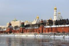 Αρχιτεκτονικό σύνολο Μόσχας Κρεμλίνο Στοκ Εικόνες