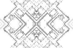 Αρχιτεκτονικό υπόβαθρο, αρχιτεκτονικό σχέδιο, κατασκευαστικό σχέδιο Στοκ εικόνα με δικαίωμα ελεύθερης χρήσης