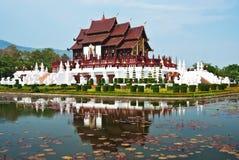 αρχιτεκτονικό ύφος Ταϊλανδός Στοκ φωτογραφία με δικαίωμα ελεύθερης χρήσης