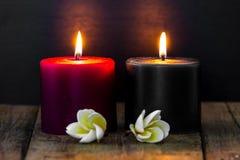 αρωματικά κεριά Στοκ Φωτογραφία