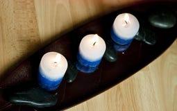 αρωματικά κεριά Στοκ Εικόνες