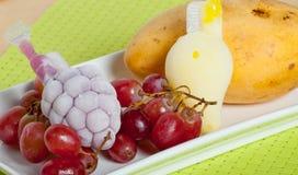 Αρωματικές καραμέλες πάγου φρούτων Στοκ Φωτογραφίες