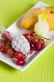 Αρωματικές καραμέλες πάγου φρούτων Στοκ Εικόνες