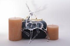 Αρωματικές κερί και πετσέτες στοκ φωτογραφία