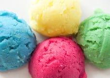 Αρωματικές σέσουλες παγωτού στοκ φωτογραφία με δικαίωμα ελεύθερης χρήσης