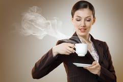 αρωματικός καφές στοκ φωτογραφία