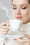 αρωματικός καφές στοκ εικόνα