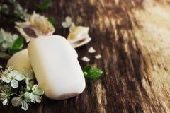 Αρωματικό σαπούνι Στοκ Εικόνες
