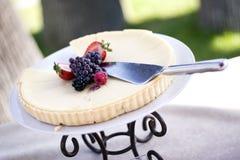 αρωματικό τυρί ricotta αμυγδάλω& Στοκ Εικόνες