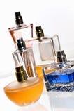 αρώματα μπουκαλιών στοκ εικόνες με δικαίωμα ελεύθερης χρήσης