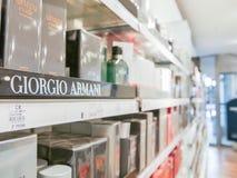 Αρώματα του Giorgio Armani Στοκ εικόνες με δικαίωμα ελεύθερης χρήσης
