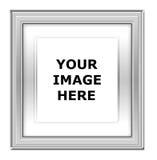 ασήμι εικόνων πλαισίων Στοκ φωτογραφία με δικαίωμα ελεύθερης χρήσης