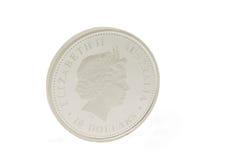 ασήμι νομισμάτων Στοκ Εικόνες