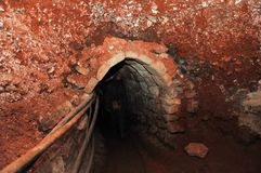 ασήμι ορυχείων Στοκ εικόνα με δικαίωμα ελεύθερης χρήσης