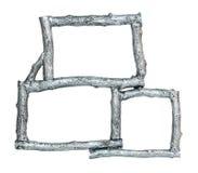 ασήμι πλαισίων Στοκ φωτογραφία με δικαίωμα ελεύθερης χρήσης