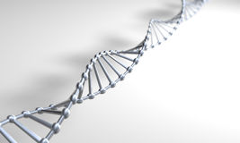 ασήμι DNA Στοκ Εικόνες