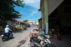 Ασία Βιετνάμ Οδός στην πόλη Στοκ Φωτογραφία