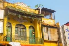 Ασία Η πρωτεύουσα του Βιετνάμ Οδός στο Ανόι Στοκ Φωτογραφία