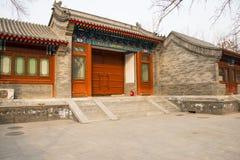 Ασία Κίνα, Πεκίνο, άσπρος ναός ï ¼ ŒLandscape architectureï ¼ Œ σύννεφων Στοκ Φωτογραφίες