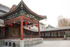Ασία Κίνα, Πεκίνο, άσπρος ναός ï ¼ ŒLandscape architectureï ¼ ŒPavilion, στοά σύννεφων Στοκ εικόνες με δικαίωμα ελεύθερης χρήσης